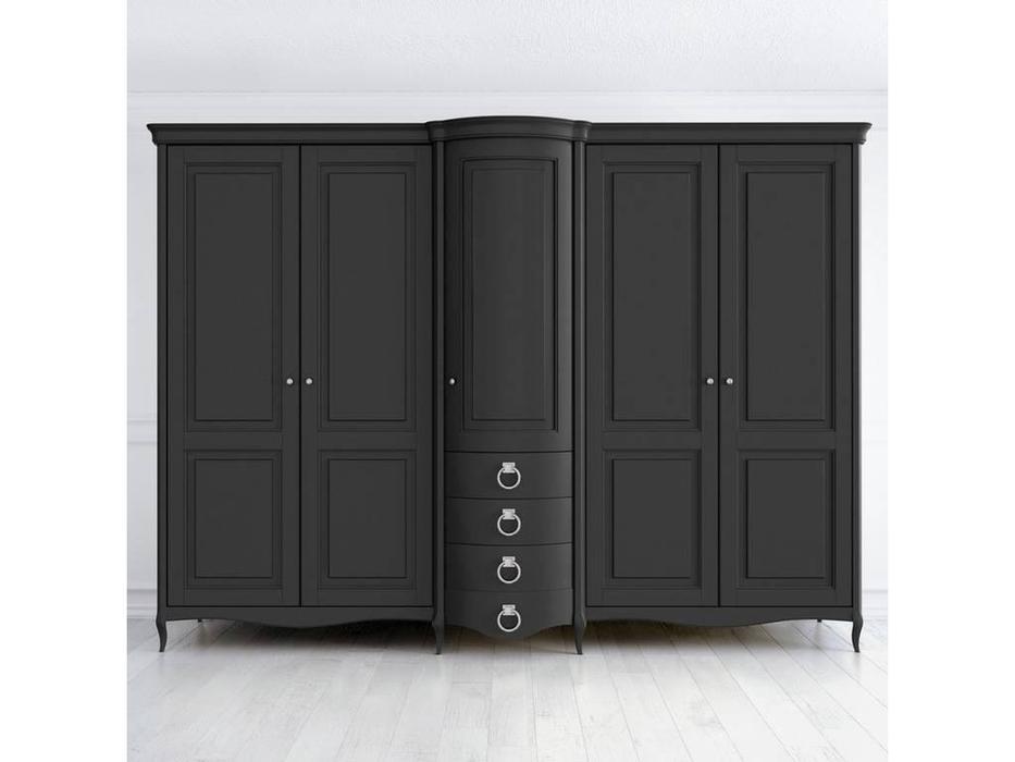 Latelier Du Meuble: Opera Estate: шкаф 5 дверный  (черный)