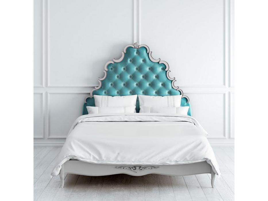 Latelier Du Meuble: Atelier Home: кровать 160х200  (слоновая кость, золото)