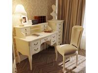 LAtelier Du Meuble: Romantic: стол с надстройкой и комодом (слоновая кость)