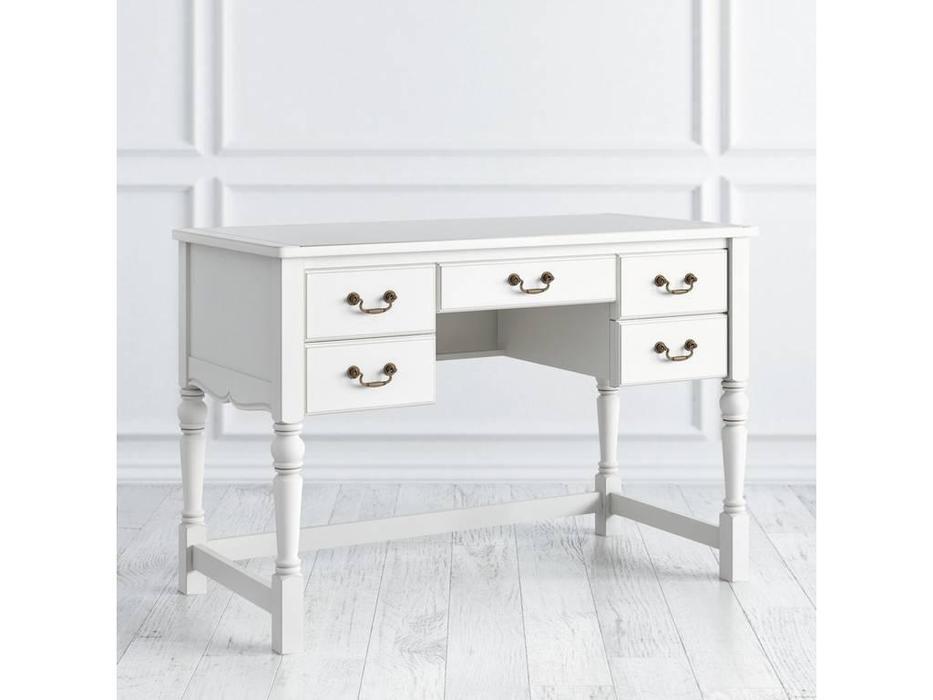 LAtelier Du Meuble: Villar: стол письменный  (белый антик с патиной)
