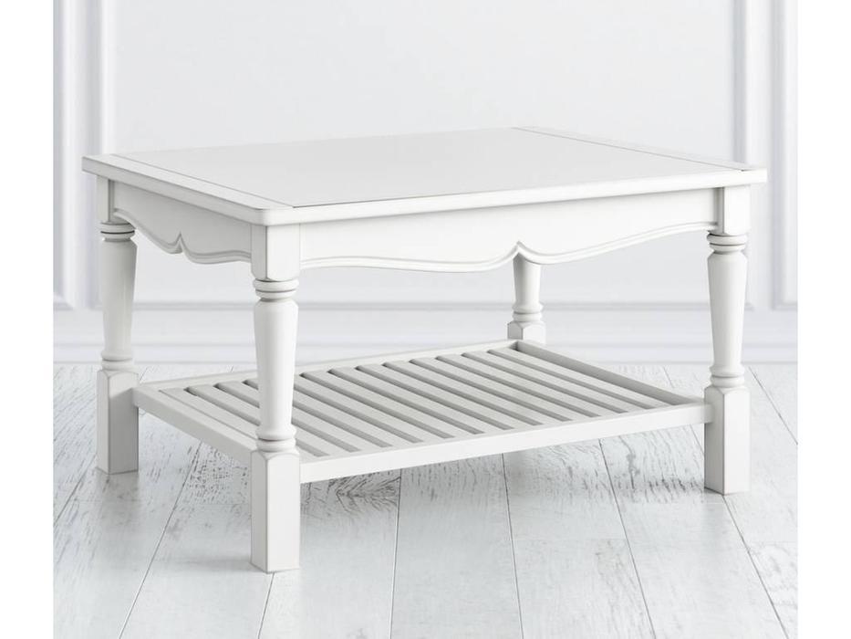 LAtelier Du Meuble: Villar: стол журнальный  (белый антик с патиной)
