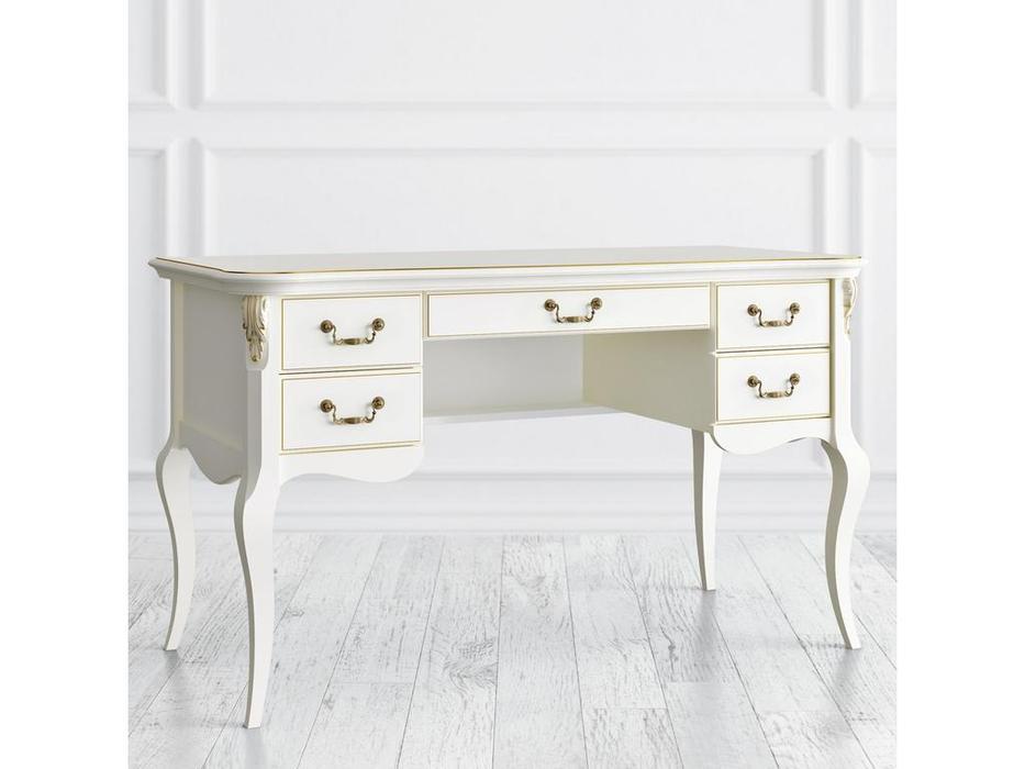 LAtelier Du Meuble: Romantic Gold: стол письменный  (слоновая кость)