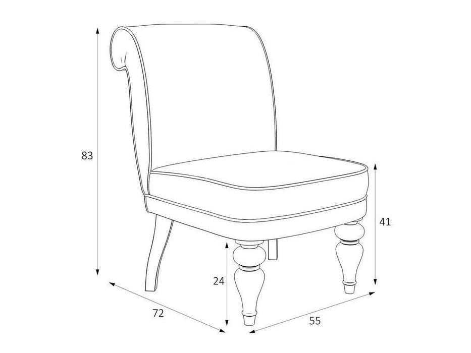 LAtelier Du Meuble: Лира: кресло  (серый, черный)
