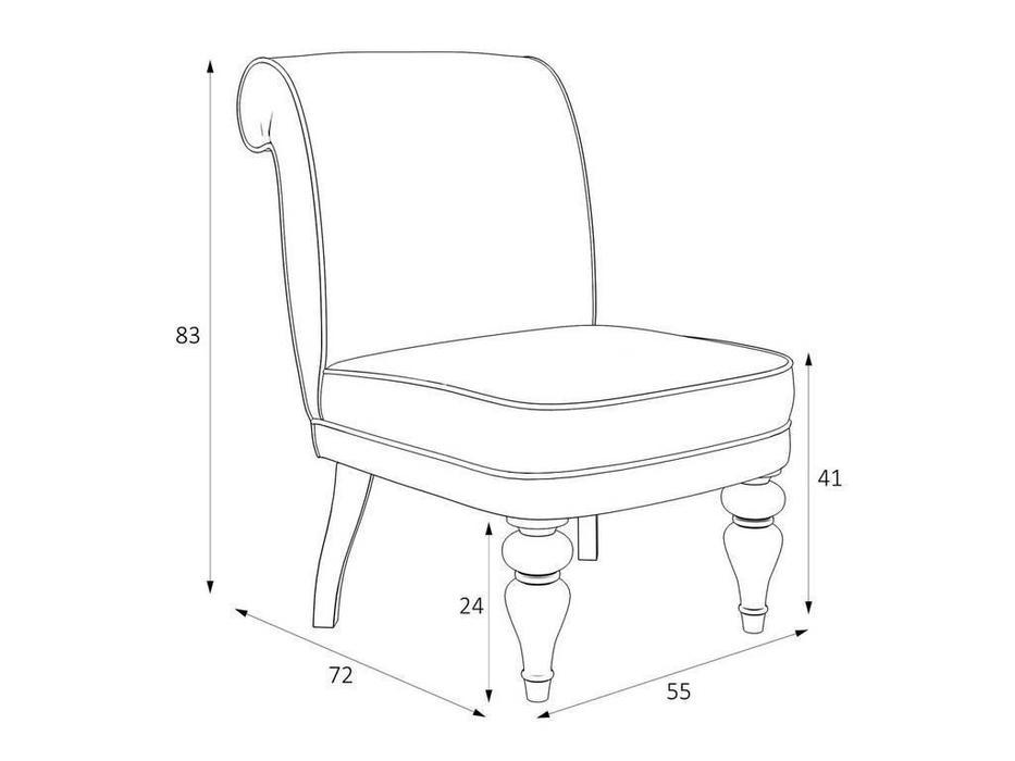 LAtelier Du Meuble: Лира: кресло  (бежевый, белый)