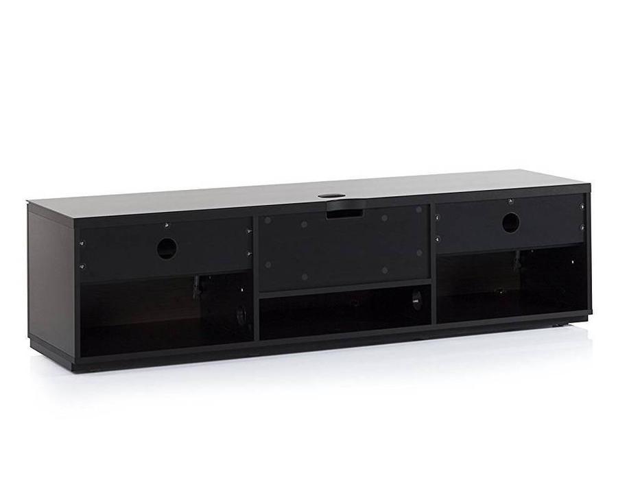 Sonorous: ST 160: тумба под телевизор  (черное стекло, черный)