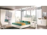 Cinova: Cleo: спальная комната со шкафом (белый)