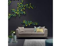 Furninova: Athena: диван 3-х местный (ткань)