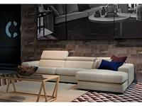 Furninova: Ferrari: диван угловой (ткань)
