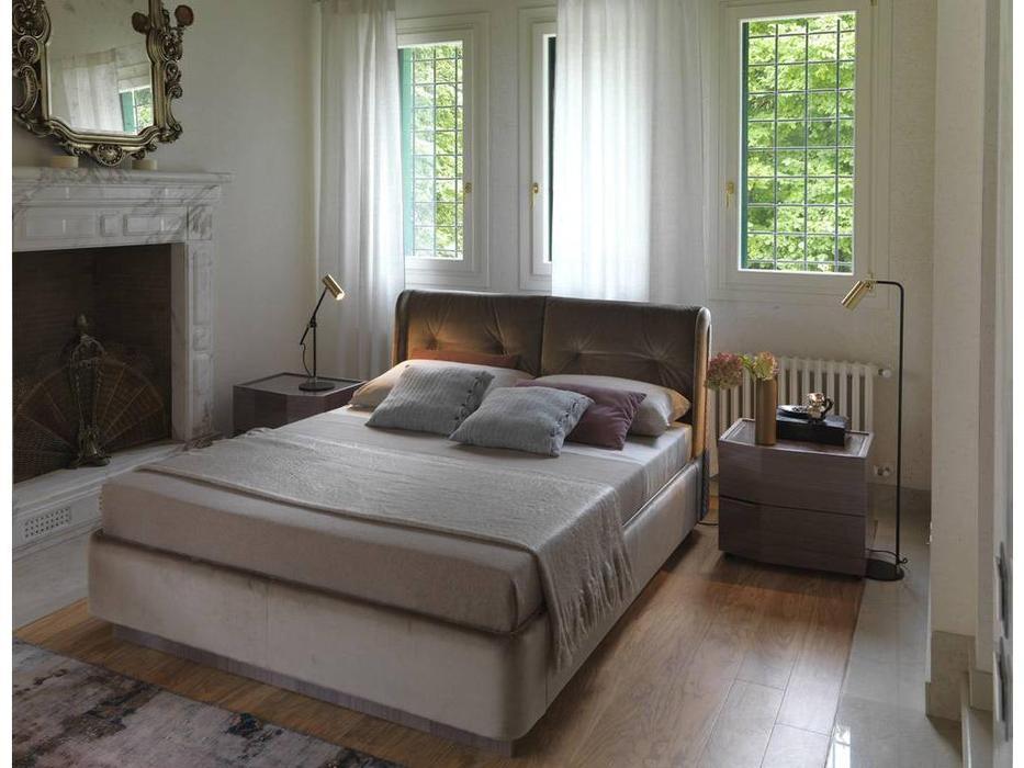 Rossetto: Elysee: кровать 160х200  CHIMERA (tortora)
