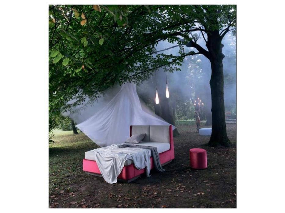 Rossetto: Elysee: кровать 160х200  CRONO с подъемным механизмом (rosso porpora)