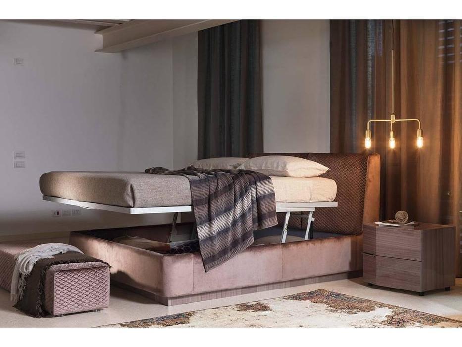 Rossetto: Elysee: кровать 180х200  CRONO с подъемным механизмом (ecru)