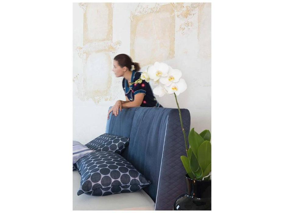 Rossetto: Elysee: кровать 160х200  AURA (blu)