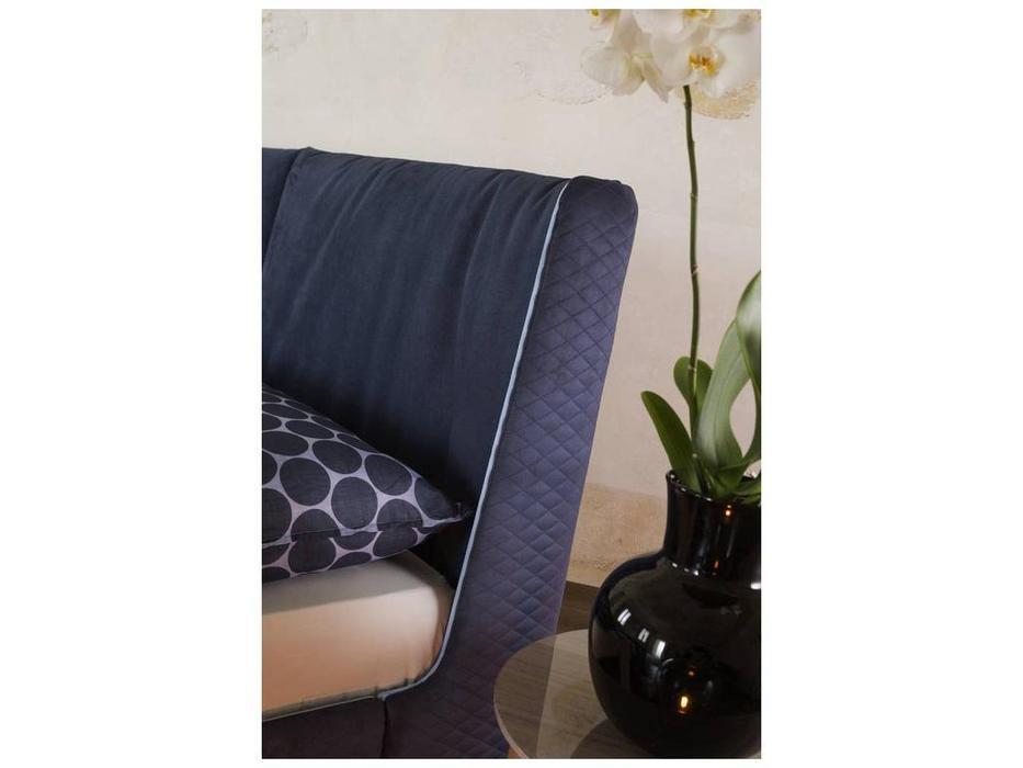 Rossetto: Elysee: кровать 160х200  AURA с подъемным механизмом (blu)