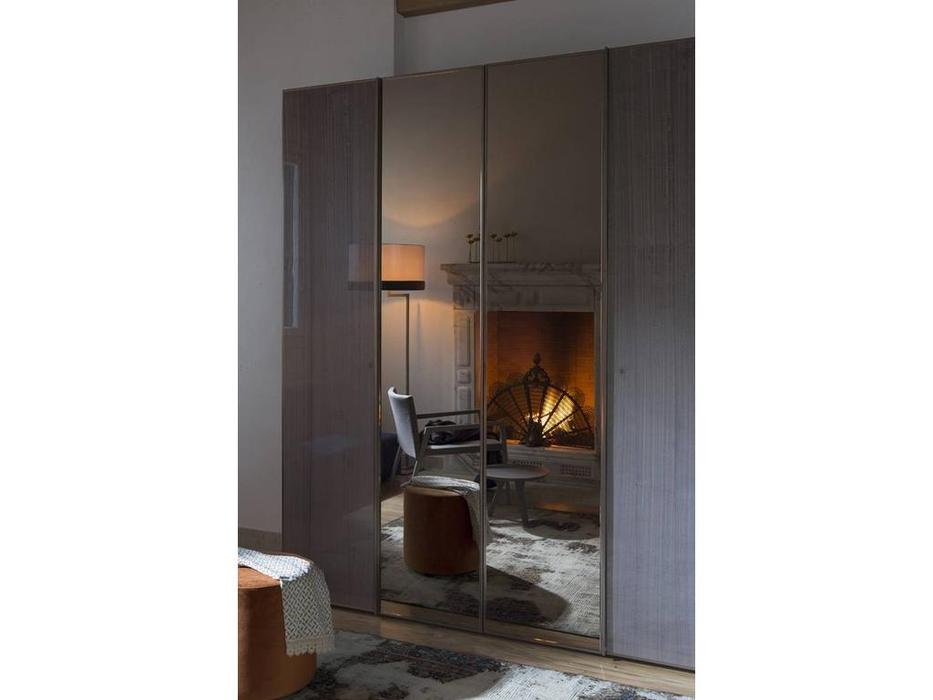 Rossetto: Elysee: шкаф 4-х дверный  с зеркалами (grigio)