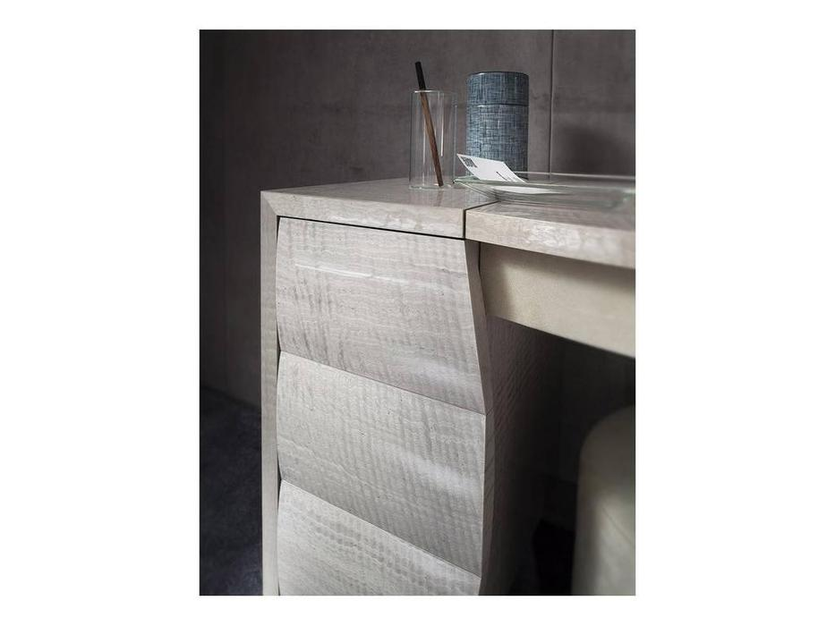 Rossetto: Dune: стол туалетный  (glossy perla frise)
