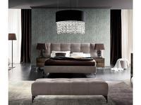 Rossetto: Dune: кровать 160х200  (nabuk ecru)
