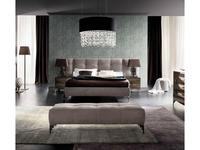 Rossetto: Dune: кровать 160х200  с подъемным механизмом (nabuk ecru)