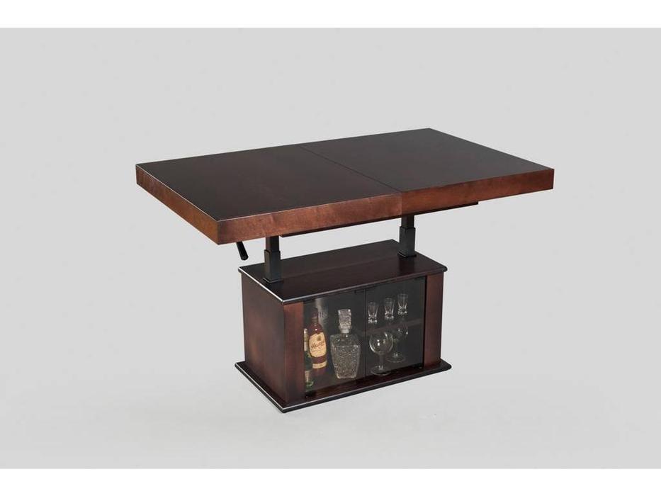 Optimata: стол-трансформер  с баром (темный венге)