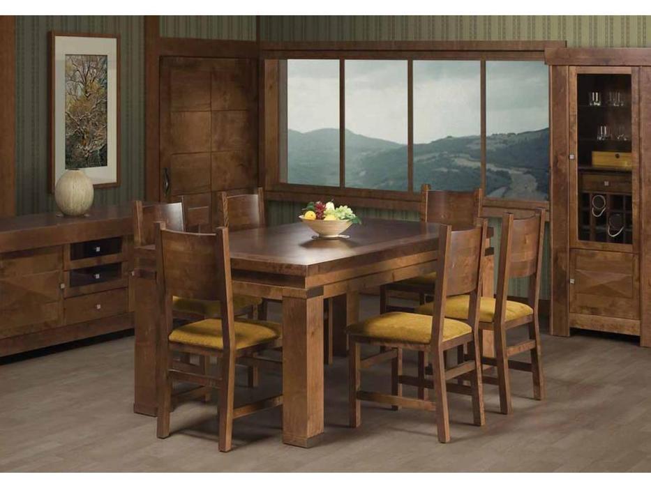 Optimata: N.Y: стол обеденный раскладной  (вишня)