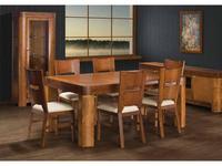 Optimata: Lilian: стол обеденный раскладной  (вишня)
