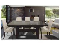 Optimata: Adrian: стол обеденный раскладной  (венге)