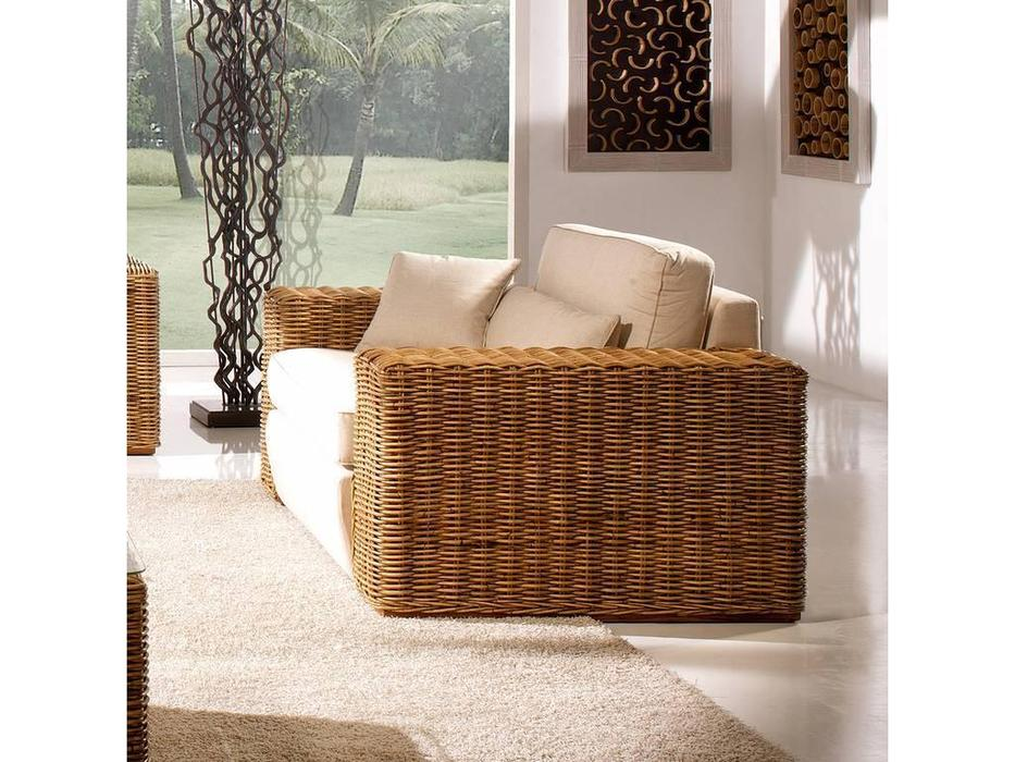 Joenfa: Carneige: кресло  с подушкой (rattan A.A)