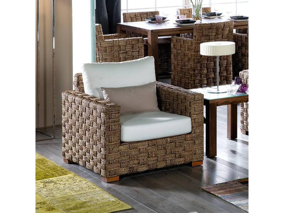 Joenfa: Porto Cristo: кресло  с подушкой (abaca nat. A)