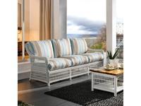Joenfa: Albert: диван 3-х местный  с подушкой (rattan solid white)