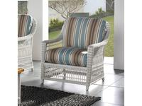 Joenfa: Albert: кресло  с подушкой (rattan solid white)
