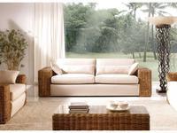 Joenfa: Carneige: диван 2-х местный  с подушкой (rattan A.A)