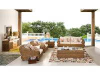 Joenfa: Tara: комплект мягкой мебели (rattan multicolor)