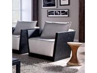 Joenfa: Alex: кресло  (bamboo black matt)