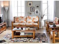 Joenfa: Tropicana II: диван 3-х местный  (bamboo)