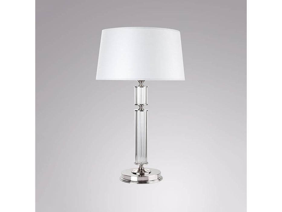 Kutek: Artu: лампа настольная  (никель)