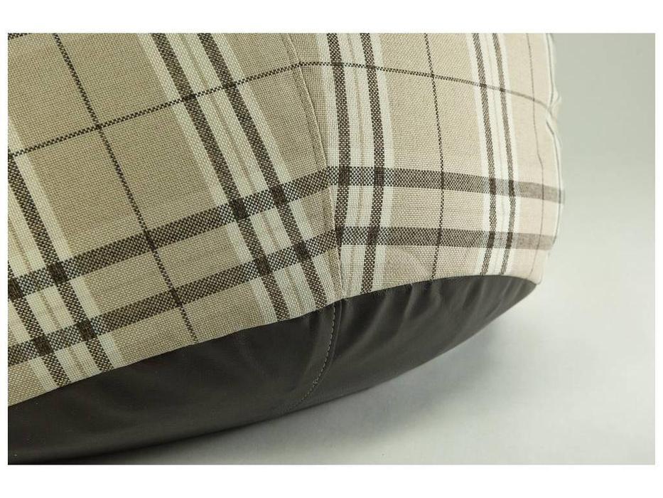 Loft: кресло-мешок Tartan (бежевый, коричневый)