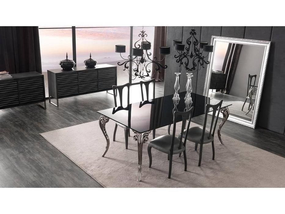 Corte Zari: Antares: гостиная (laccato nero)