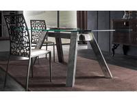 Corte Zari: Soho: стол обеденный  (foglia argento)