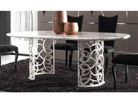 Corte Zari: Flora: стол обеденный  (madreperla)