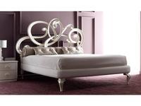 Corte Zari: Viola Soft: кровать 160х200  (bianco madreperla)