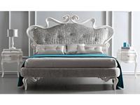 Corte Zari: Melissa Soft: кровать 165х190  (bianco madreperla)