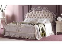 Corte Zari: Olimpia: кровать 165х190  (foglia argento melange)