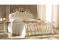 Corte Zari: Olimpia: кровать 165х190  (foglia oro melange)