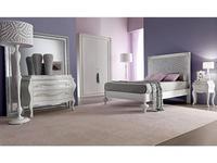 Corte Zari: Linda: кровать 140х190  (bianco lucido)