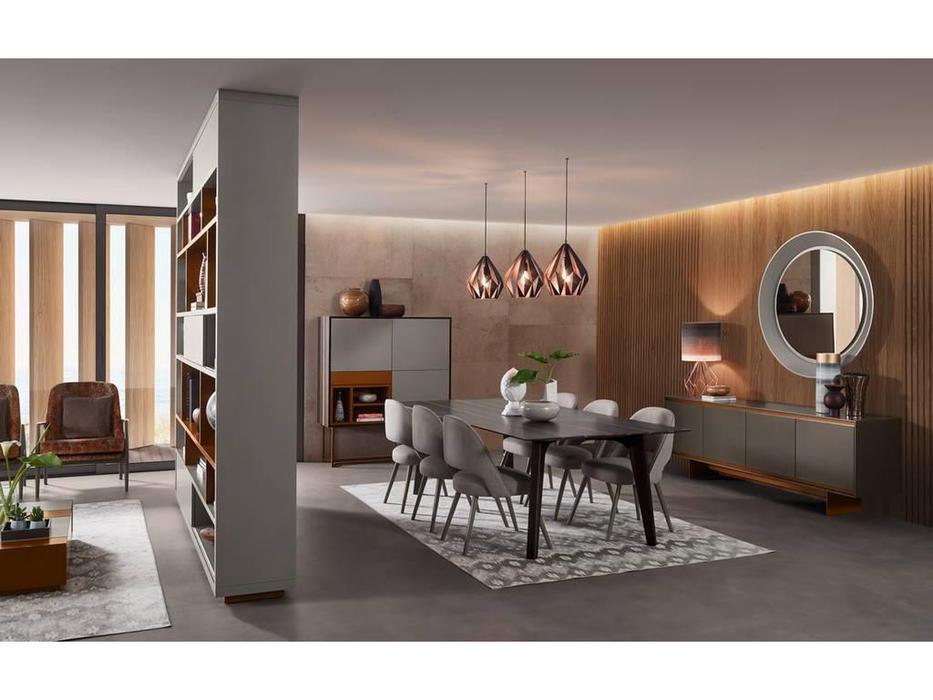 Vanguard Concept: Zurich: гостиная (шпон темный эвкалипт, лак матовый)
