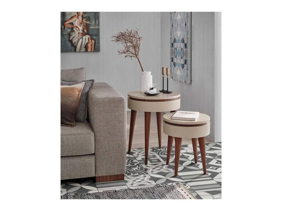 Vanguard Concept: Helsinki: стол журнальный Tray (шпон орех, лак матовый)