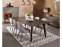 Vanguard: Zurich: стол обеденный (шпон темный эвкалипт)