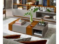 Vanguard Concept: Zurich: стол журнальный (лак матовый, эвкалипт)