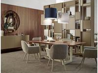 Vanguard Concept: Rome: стол обеденный (шпон орех, лак матовый)