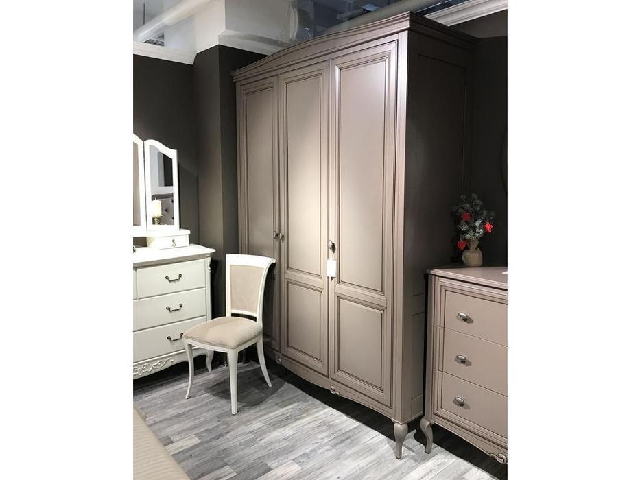БМ: Портофино: шкаф 3 дверный  (кварц)