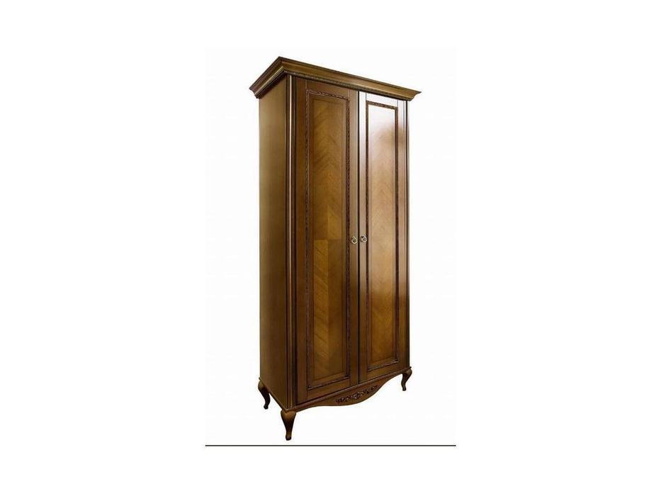 БМ: Неаполь: шкаф 2-х дверный  (орех)